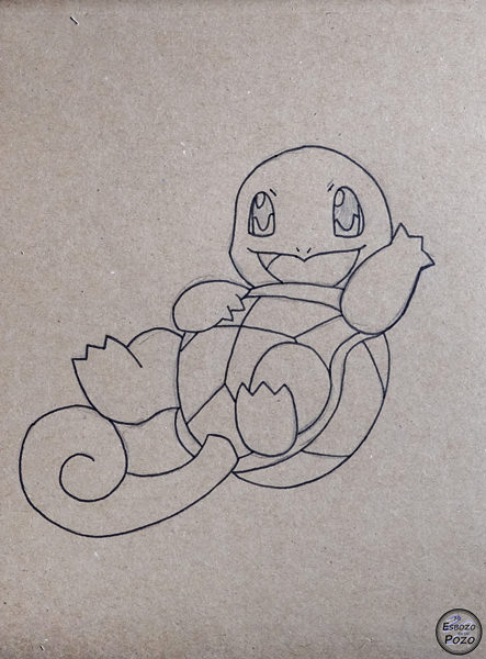 Dibujo Squirtle
